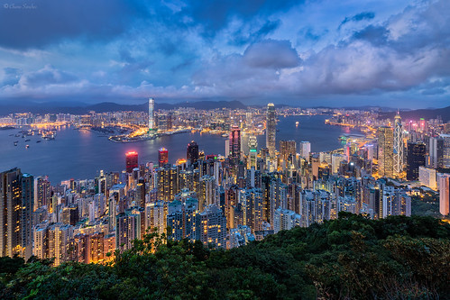 Above the Heights || Sobre las Alturas (Hong Kong Skyline from Victoria Peak)