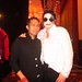Michael Kiss with fan.
