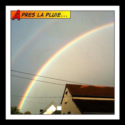 Ohhh... Le jolie z'arc-en-ciel  ( #rainbow )