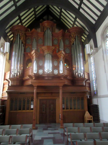 Baroque Organ in Chapel