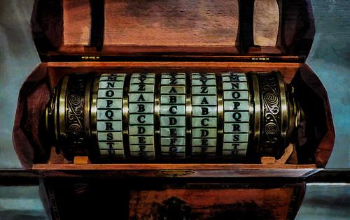 The Cryptex by Da Vinci