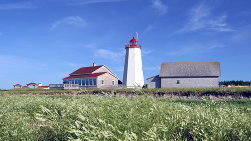 LIGHTHOUSE | MISCOU ISLAND | NEW BRUNSWICK | NB | CANADA