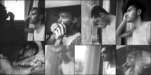 Pre fotoshoot