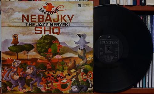 SHQ - Jazzové nebajky / The Jazz Nebyeki (Panton)
