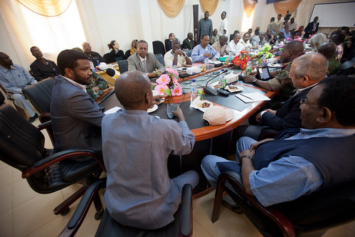 African Union Peace and Security Council visit Darfur