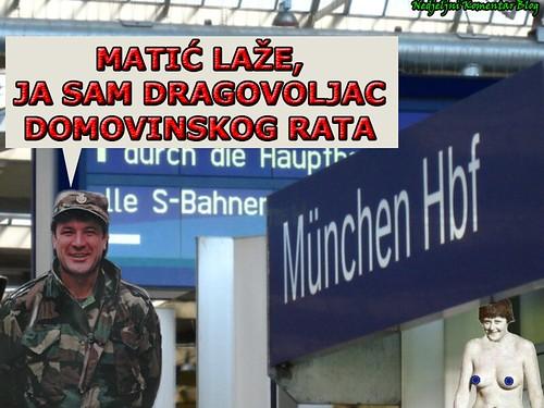 Zdravko Mamić, dragovoljac Domovinskog rata