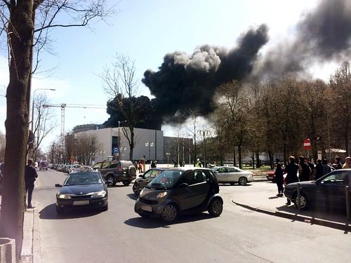 Pożar Teatru Muzycznego w Gdyni