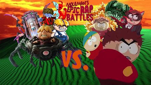 Moleman's Epic Rap Battles #38: Eric Cartman Vs. Porky Minch