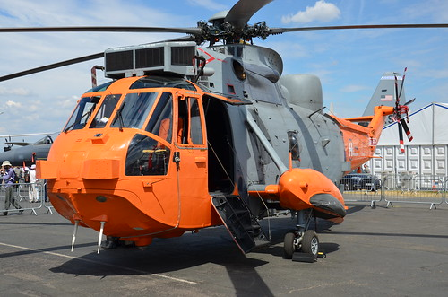 DSC_6267 - Westland Sea King HAS. Mk. 5, XV666, Heli Operations Ltd., Farnborough, 16th July 2018.