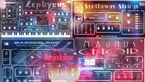 Magic Fly (Space) - Bassesland, Zephyrus, Magnus Choir, Banjodoline, Syntheway Strings VST