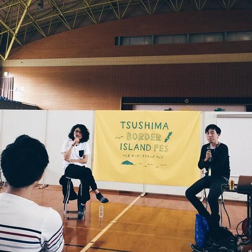 UQIYOの加藤さんとアニメーション監督の松浦さんのトークショー「アニメーションと音楽」 #tbif2016