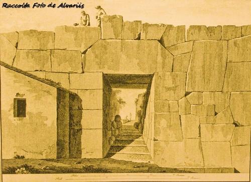 1810 ca Ingresso della cittadella di Alatri di Marianna Candidi Dionigi