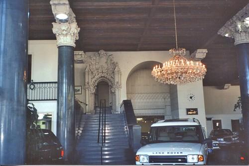 San Francisco  California  - Originally Earle C. Anthony Packard Showroom  - Interior  1927