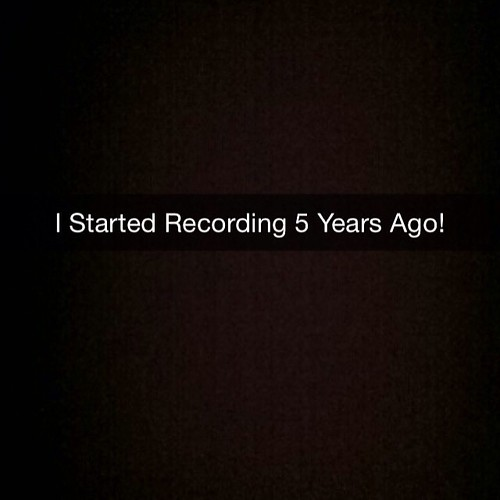 Being That It's Been Five Years From The First Time I Started Calling My Self #TooSmooth Under The Team #LightsOutEntertainment I'm Going To Release Every Song I Did In Schaumburg. I Mean EVERY SONG! Finished and Unfinished. Freestyles Silly And Shitty So