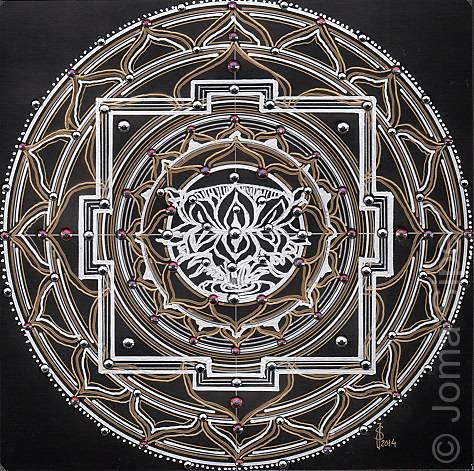 Joma Sipe, Mandala III Original Version