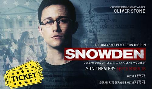 Snowden Movie Tickets Advanced Booking Online