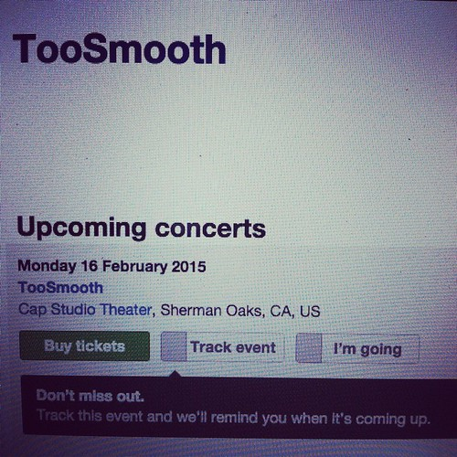 Hey CA Folks I'm Having A Little Show At #CapStudioTheater Feb 16th If Your Around Come Check Me Out!!!! More Dates Coming Soon. #Blessed #Thankful #God #GodsGift #Music #MusicIsLife #History #TeamTooSmooth #TooSmooth #IAmTooSmooth #LiveShow #BeYourSelf #