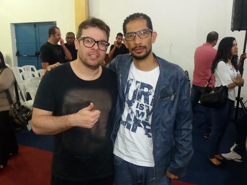 Fim do workshop de produção musical com Leandro Rodrigues da banda Salluz
