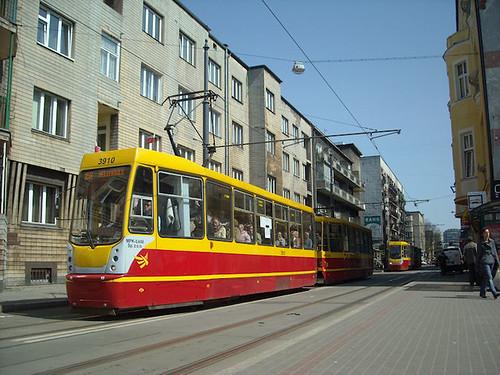 Konstal 805Na, #3910, MPK Łódź sp. z o.o