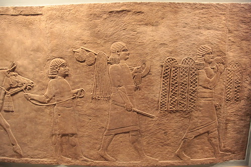 Bassorilievo Assiro al British Museum (22)