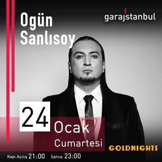 Ogün Sanlısoy 24 Ocak'ta Garajistanbul'da