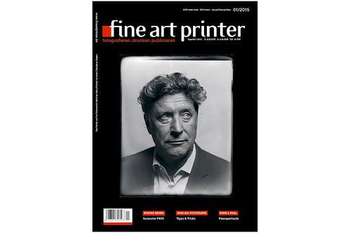 Coverstory meinungsbilder by Valéry Kloubert: Magazin FineArtPrinter 1/2015 am Kiosk.