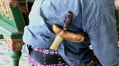 Indonesia - Java - Yogyakarta - Kraton - Museum - Gamelan Musicians - Kris