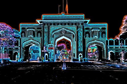 India - Rajasthan - Jaipur - City Gate - 31b