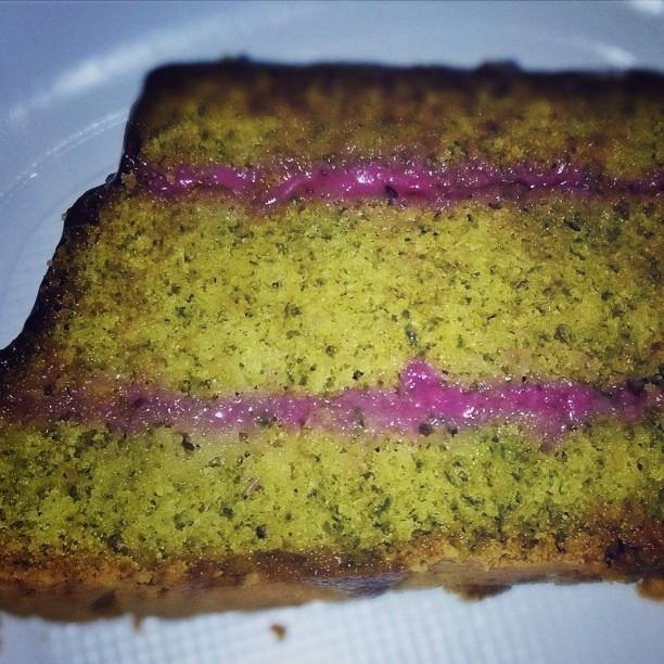 Bolo de Agrião - watercress cake