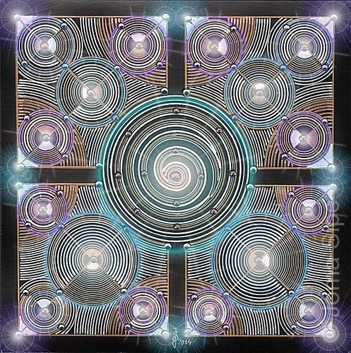 Joma Sipe, Mandala II Illuminated Version