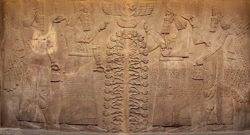 Bassorilievo Assiro al British Museum (6)