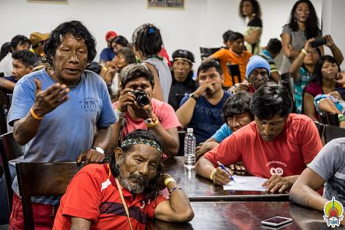 Reunião com etnias Krahô, Krikati, Canela, Guajajara, Gavião, Kaapor © Mário Vilela » FUNAI-38