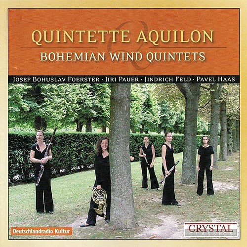 Bohemian Wind Quintets Quintette Aquilon Crystal Classics