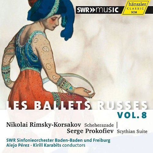 Ballets Russes Vol. 8 South West German Radio Symphony Orchestra Baden-baden And Freiburg Haenssler Classics