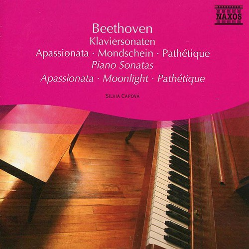 Piano Sonatas Apas Silvia Capova Naxos