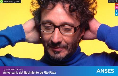 13 de marzo. Aniversario del Nacimiento de Fito Páez