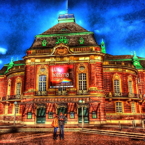 The Laeiszhalle (German pronunciation: [ˈlaɪsˌhalə]), formerly Musikhalle Hamburg, is a concert hall in Hamburg, Germany and home to the Hamburger Symphoniker. The hall is named after the German shipowning company F. Laeisz, founder of the concert venue a
