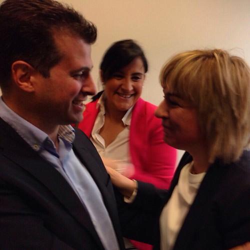 .@LuisTudanca y @ana_schez, junto a una gran mujer y una gran socialista, como @ELEDICA... #Amistad #Compañerismo #Respeto #Intregridad #LuisTudanca #CastillayLeón #CyL #TudancaEnSalamanca #TiempoDeTudanca #TUdancaPresidente #twitter #flickr #instagram #f