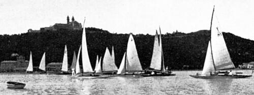 Kékszalag rajt - Balatonfüred, 1934. július 27
