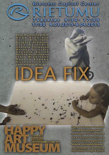 RIETUMU BANK presents exhibition Idea Fix & Happy Art Museum