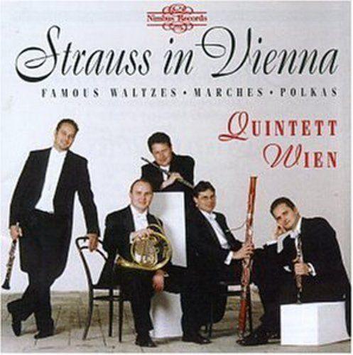 QUINTETT WIEN - STRAUSS IN VIENNA NEW CD