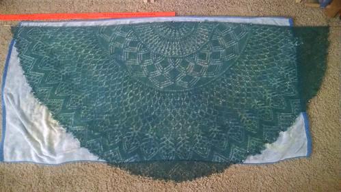 Verbal equinox shawl