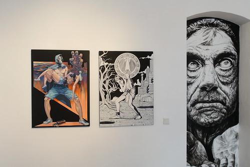 exhibition - wild drawing / scare one - rpunkt . berlin
