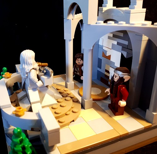 Elrond Half-Elven introduces an orphaned Dunedain boy to his heritage.