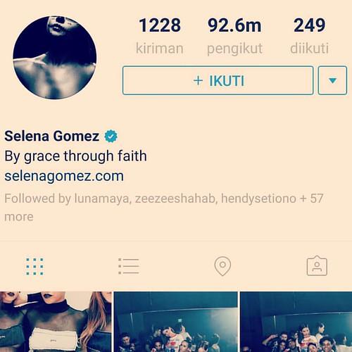 Inilah ratu instagram sejagad raya: selena gomes punya lebih dari 92juta follower #instagram #ig #followers  #follower