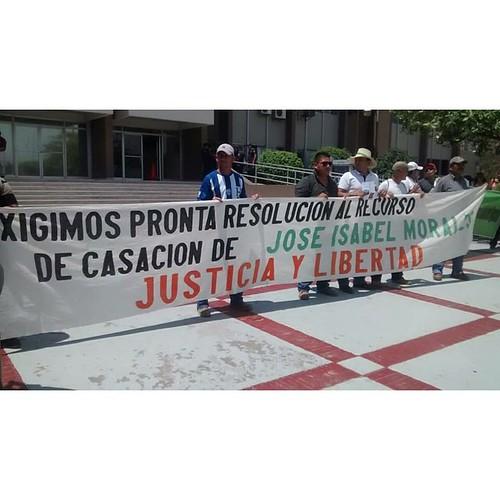 Chabelo Morales, pagando pena en la Granja Penal de