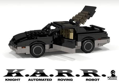 K.A.R.R. - Knight Industries Roving Robot (Knight Rider TV Series - 1984)