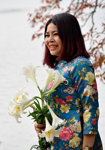 Marriages take place around Hoan Kiem Lake in the capital Hanoi.