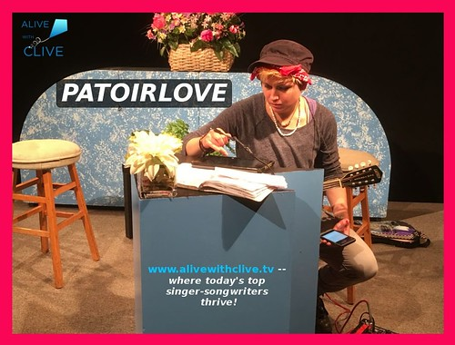 Behind-the-scenes with Patoirlove on Alive with Clive