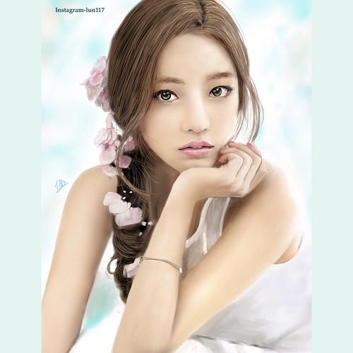 Fresh style Hara😊  @kxxhara #kara #kpopfanart  #fanart #hara #荷拉 #박규리 #한승연 #구하라  #ク・ハラ #카라 #カラ  #kpop #kdrama #art #illustration #drawing #art_fashion #digitalart #girl #actress #singer #girlgroup #cupid #inlove